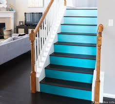 Painted Stairs Stair Riser Ideas Decorative Stair Risers Stair Risers