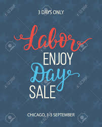 Labor Day Free Online Labor Day Sale Unique Advertisement Poster With Handwritten