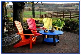 colorful patio furniture bright bring new life to old plastic patio furniture with spray paint for
