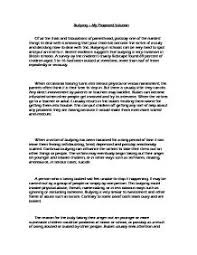 bullying essay example essay on bullying