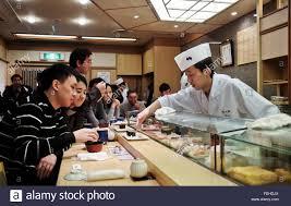 Sushi Cook Sushi Japan Cook Food Restaurant Stock Photo 95040930