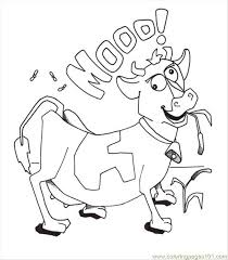 Small Picture Awesome Cow Coloring Pages Contemporary New Printable Coloring
