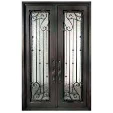 front door with wrought iron and glass iron glass front doors full lite iron doors unlimited