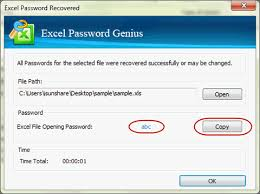 Encrypted Excel Files Top 3 Ways To Open Protected Excel File Worksheet Without