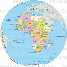 geoatlas  world maps and globes  globe africa  map city