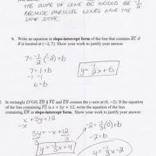 writing equations for parallel lines students are asked to the image of worksheet answer resume