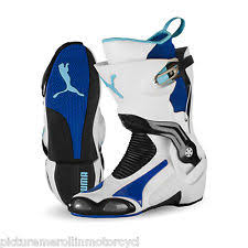 puma motorcycle boots. white blue puma 1000 v3 motorcycle road race boot \u2013 best you can buy! puma motorcycle boots e