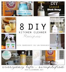 Homemade Kitchen Floor Cleaner 8 Diy Kitchen Cleaner Recipes With Ingredients You Can Pronounce