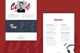 Free Resume Psd Template Creativetacos