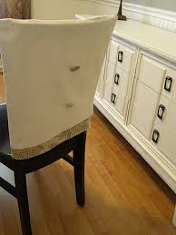 kitchen chair back covers. Diy Chair Back Covers...I Love These Kitchen Covers