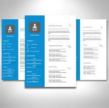 2 Page Cv Template Sales Cv Template Pack