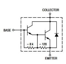 Tip122 Npn Transistor Complementary Pnp Replacement Pinout