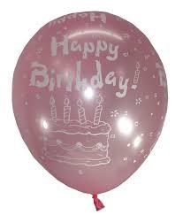 Happy Bday Cake Latex Balloons Buy Balloons Online India Buy