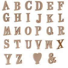 lots large a z wooden letters alphabet