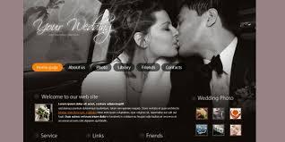 Free Wedding Website Templates Simple 28 Free Wedding Website Templates