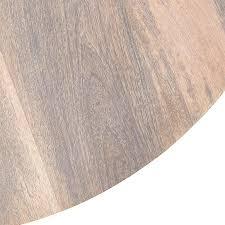 stavros whitewashed wooden round coffee