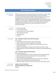 Sample Chef Resumes 24 New Chef Resume Samples Graphics Education Resume And Template 18