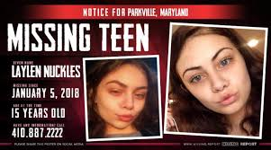 MISSING PERSON • Krystina Ashley Behr • Parkville, Maryland • 29 Years Old