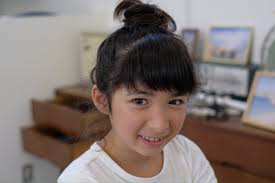 子どものカットも得意です騒がしくても大丈夫ですよ 愛知県豊橋市