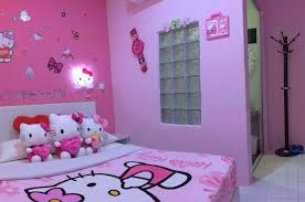 hello kitty bedroom decoration ideas