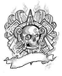 Aztec Tattoo Patterns Awesome Aztec Tattoo Designs Best Tattoos Designs