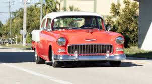 1955 Chevy 210 4 speed Test Drive. - YouTube