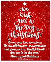 Christmas Blessing Quotes Unique Top 48 Christmas Greetings For Coworkers