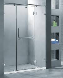 china self cleaning bath shower doors glass glass showers doors frameless supplier