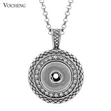 noosa ginger snap necklace on pendants with crystal jewelry interchangeable jewerly with snless steel chain nn 032 ginger snap necklace pendant
