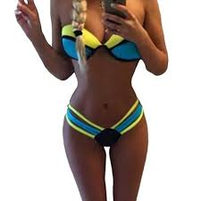 <b>MUOLUX 2019</b> Push Up Padded <b>Bikini</b> Brazilian Swimwear <b>Women</b> ...