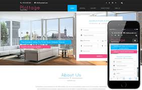 real state template plottage a real estate flat bootstrap responsive web template