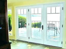 single patio door with side windows danagilliannme