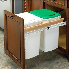 N Trash Can Pull Outs Out Waste Bins Cabinet Insert Kitchen  Garbage