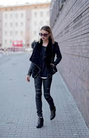 for a new revival of the classic rocker girl look try mixing and matching diffe