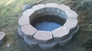 to build a fire pit in your backyard