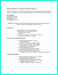 Sample Resume For High School Student New Resumes For High School Students With No Work Experience High