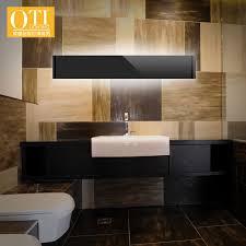 toilet lighting. simple lighting aliexpresscom  buy oti lighting led waterproof wall lamp moisture toilet  bathroom mirror light modern minimalist ld80072 31cm from reliable  for