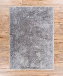 silver area rugs inspirational shimmer silver grey solid modern er ultra thick soft