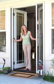 double retractable screen door from clearview these are all custom built to fit your clearview doors s1