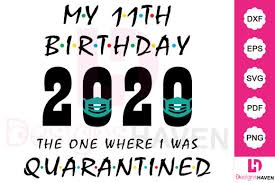 Download all 134 fonts tagged with svg unlimited times with a single envato elements subscription. My 15th Birthday 2020 Vector Design Graphic By Designshavenllc Creative Fabrica
