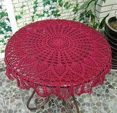 ustide hansenne style small round table cloth handmade crochet tablecloth weddings lace tablecloth pro environment cotton tablecloth plant flowers