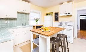 Craftsman Small Kitchen Island