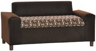 brown crypton gustavo window seat big dog furniture