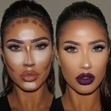 very slim looking nose contouring at its finest