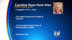 Image result for the father of Caroline Rose Hunt