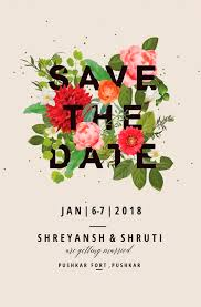 Wedding Invitation Ecard And Save The Date Invitation By
