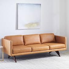 who makes west elm furniture. Westelm Brooklyn Leather Sofa Who Makes West Elm Furniture