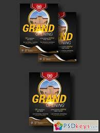 Grand Opening Flyer Impressive Grand Opening Event Flyer 48 Free Download Photoshop Vector
