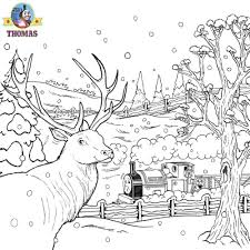 19 Thomas The Train Christmas Coloring Pages Thomas The Train