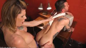 Delia DeLions in Delia releases a kept man from chastity then.